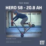 Test Ride: Probamos el Hero S8 21Ah